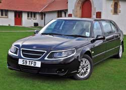 Thomson Funeral Director Lossiemouth Moray Funeral Car Executive Car Saab 7 seater